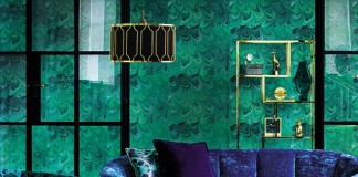 Malachite walls