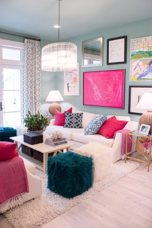 Bright and cheerful interior