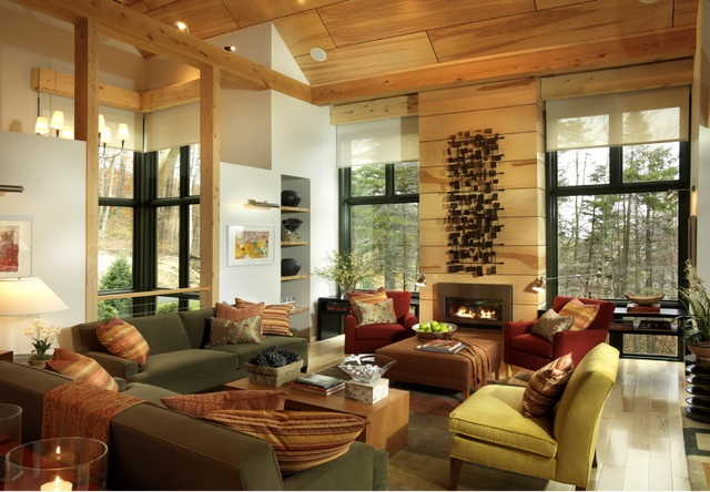 Warm and inviting interior