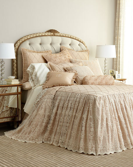 Sweet Dreams King Kensington Garden Coverlet (neimanmarcus)