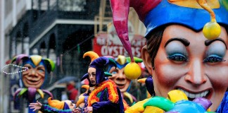 Mardi Gras in New Orleans, Louisiana