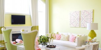 A light and bright Spring inspired interior