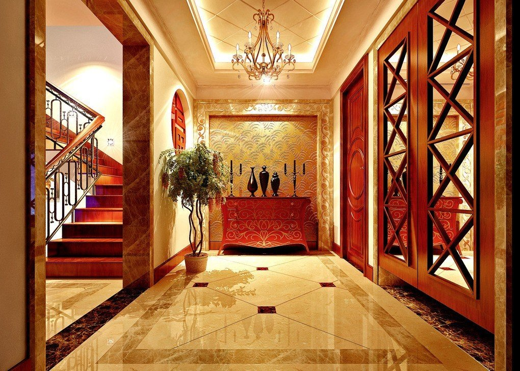 Chinese interior design style for Interior design styles traditional contemporary