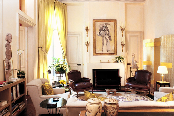 Interior design by Jacques Grange