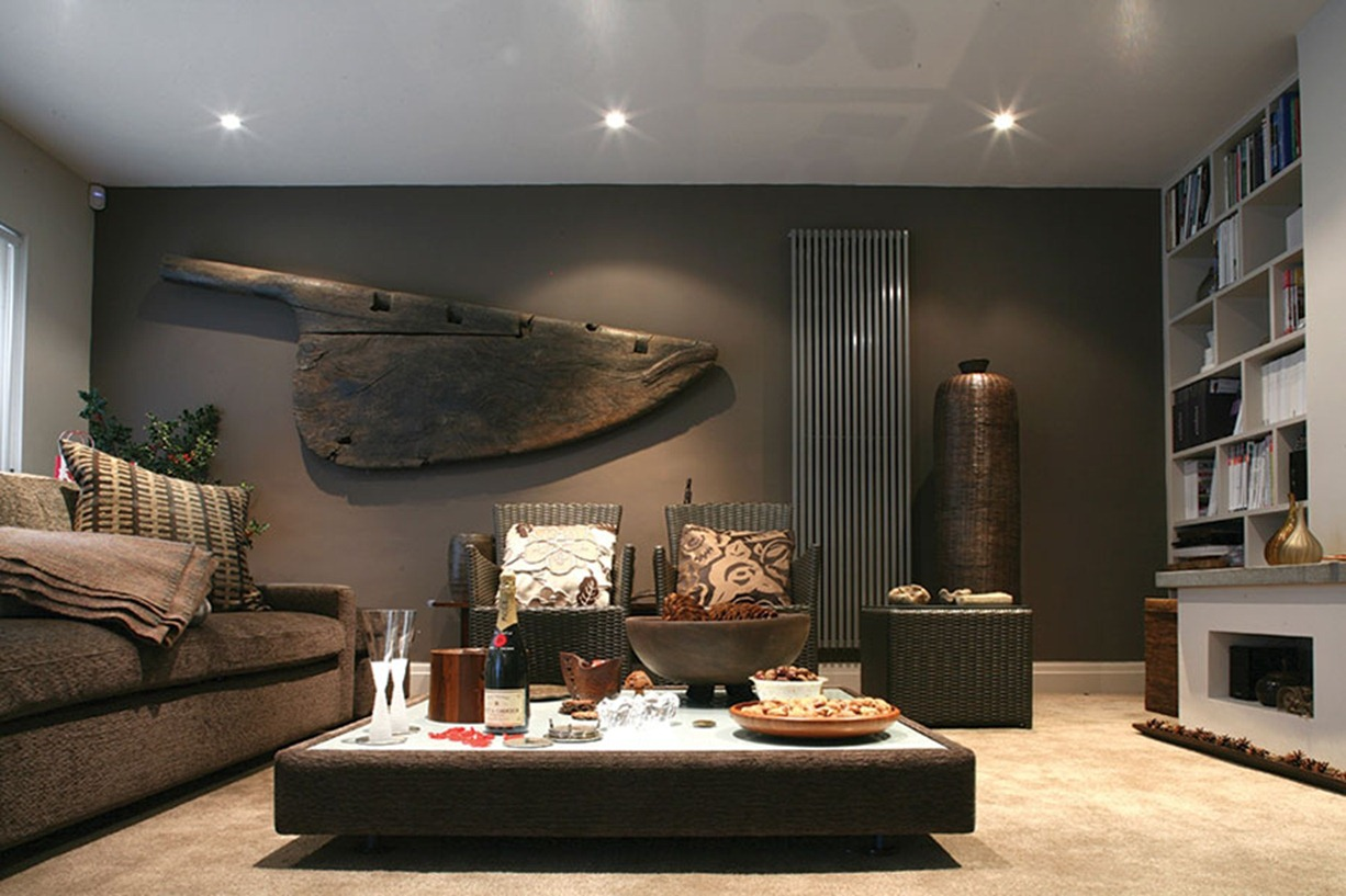 Masculine Interiors for the Sophisticated Modern Man