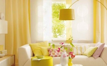 Yellow interior (tutiszoba)
