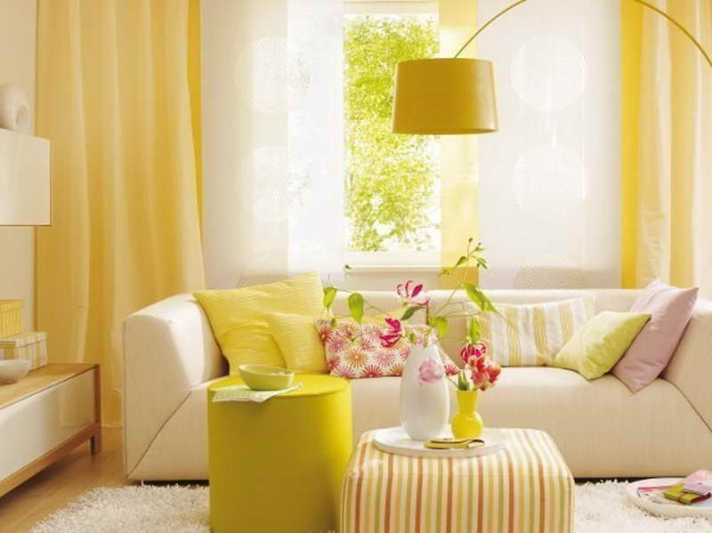 Yellow Interior Tutiszoba