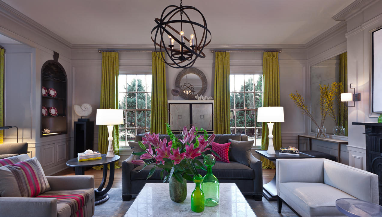 Sophisticated feminine interiors for the modern woman - Elegant contemporary living rooms ...