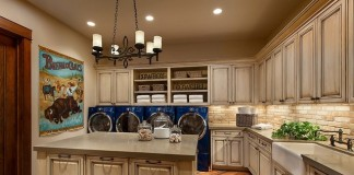 Not your ordinary laundry room