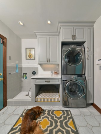 Laundry room and pet room
