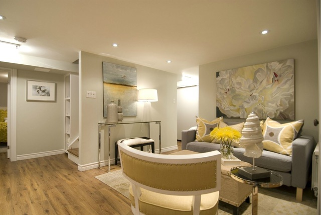 10 creative uses for the basement A sleek apartment the divides rooms creatively