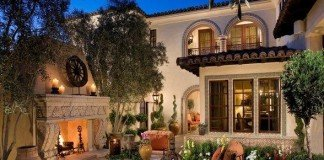 Tuscan-inspired outdoor living