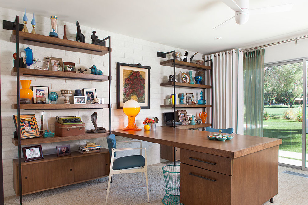 mid century modern home office - Mid Century Modern Home Office