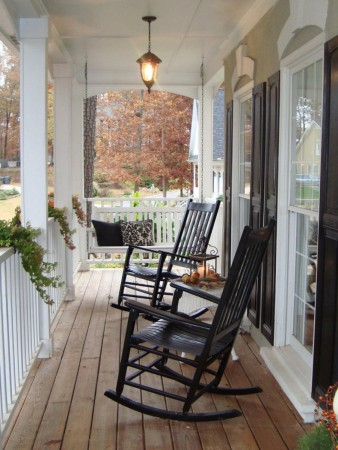 Classic porch rocking chairs