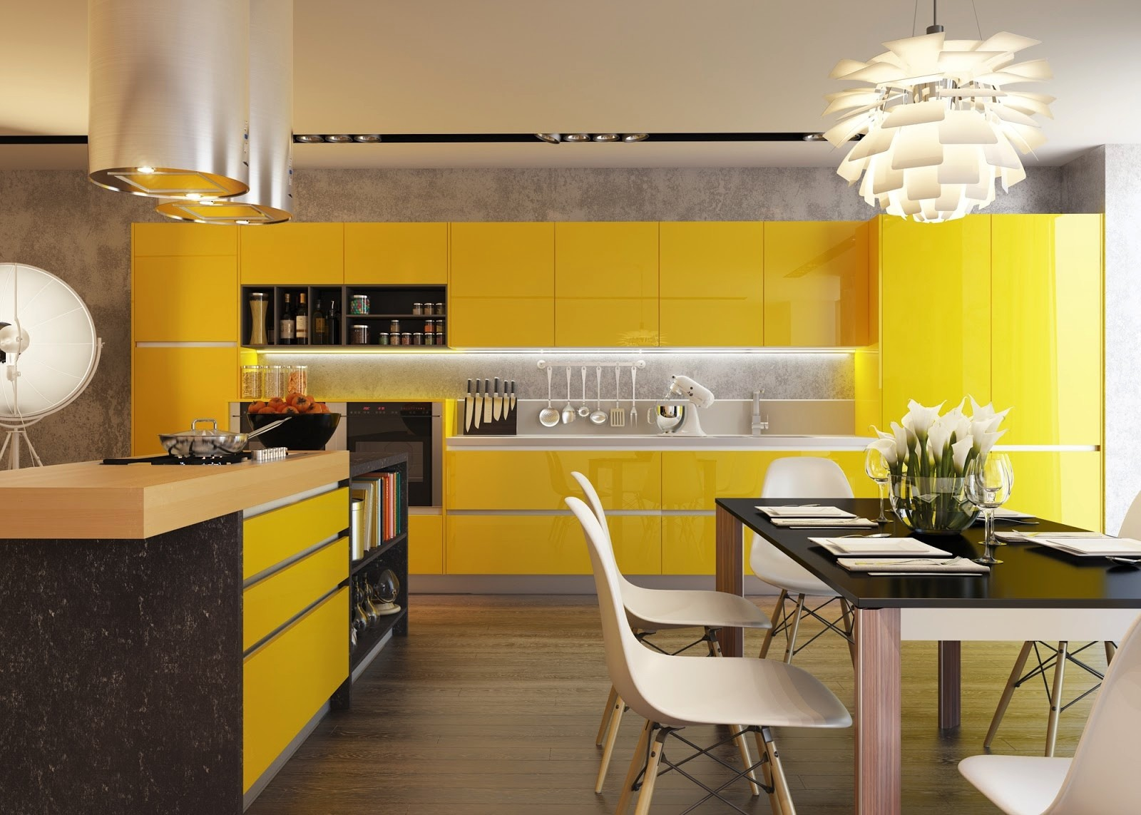 Yellow Kitchen Modern Kitchens With Color And Character