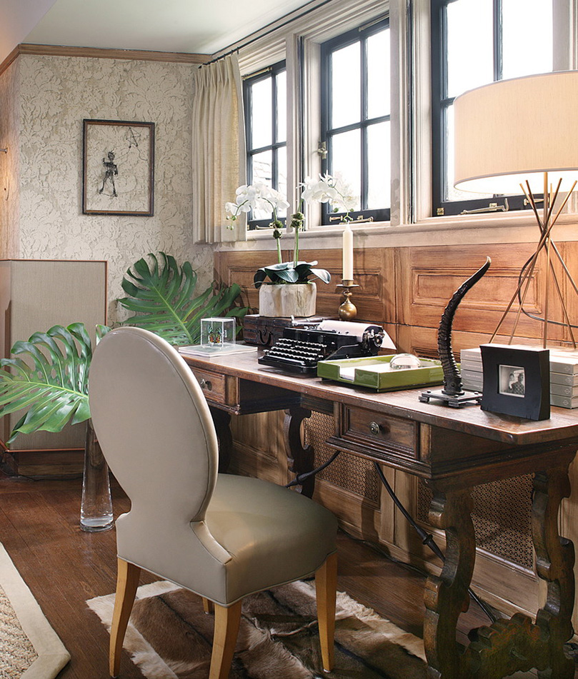 Home Office And Studio Designs: How To Create A Colorful And Eclectic Home Office