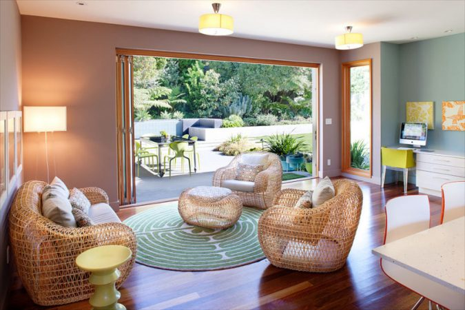 Lighten up for summer with wicker furniture