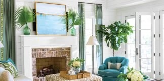 Beautiful summery living room