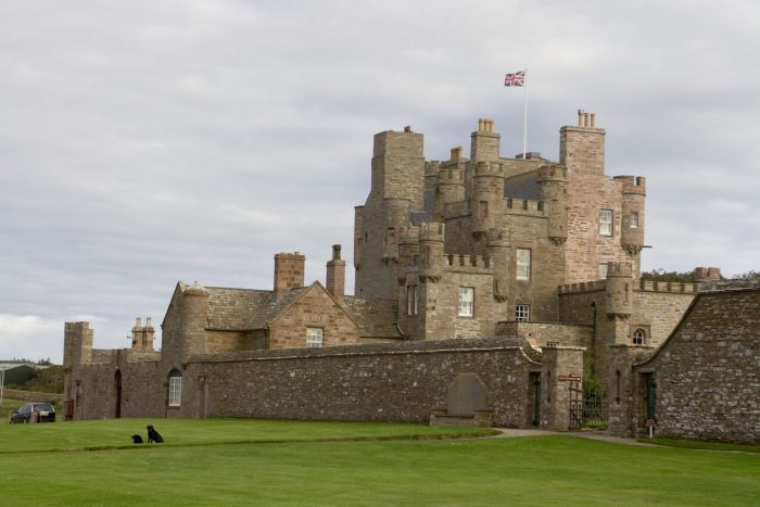 The Castle of Mey. Original image here.