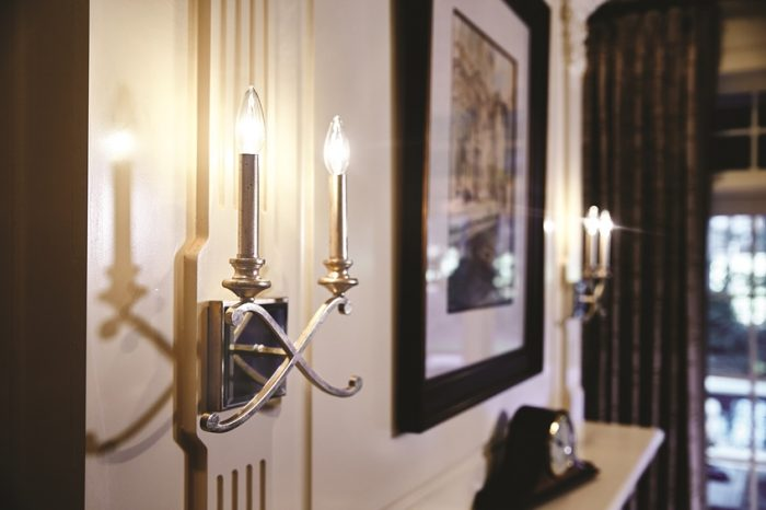 Classically stylish sconces