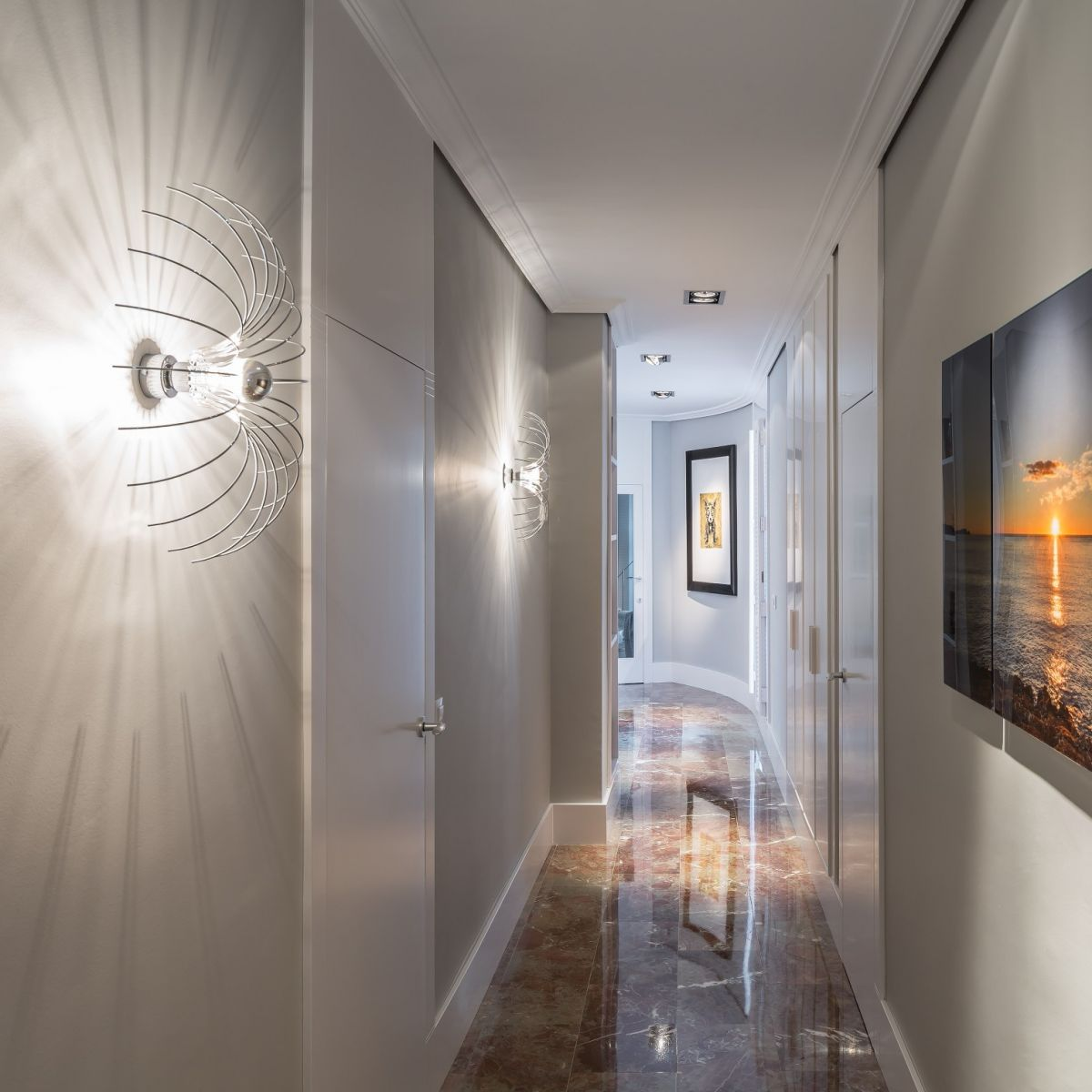Lighting For Hallway: Sconce Lighting For Adding Sparkle To Your Interiors