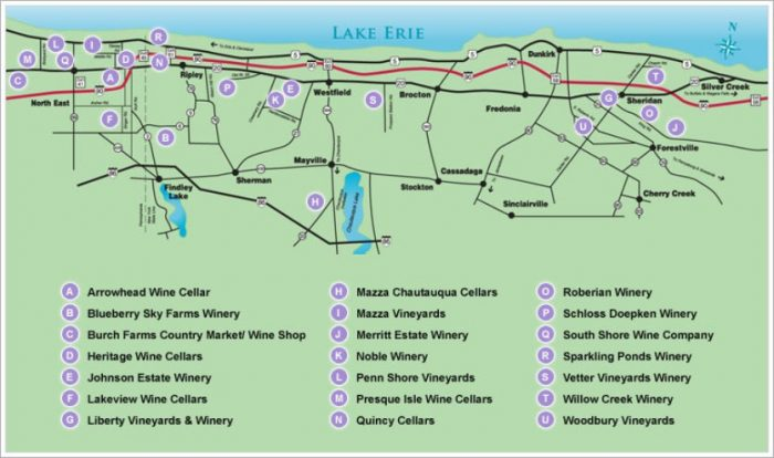 Lake Erie Wine Trail
