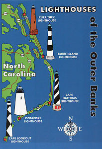 OBX Outer Banks Lighthouses