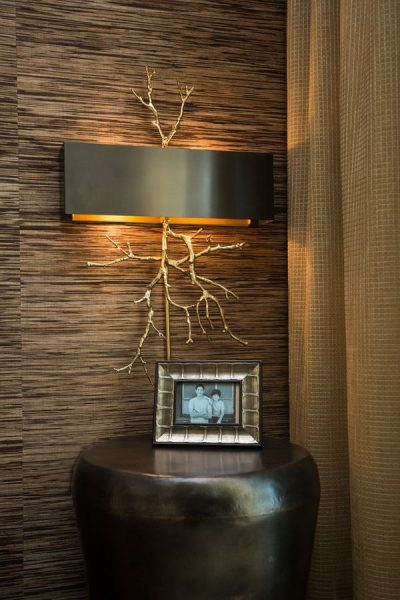 Unique wall sconce for the stylish home