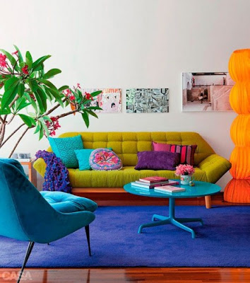 Turn up the color in your home