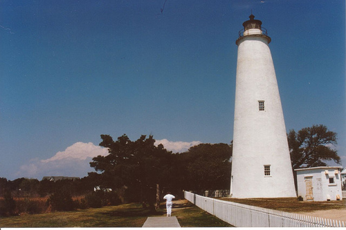historic lighthouse Ocracoke
