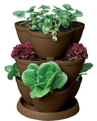 Stacking Container Garden