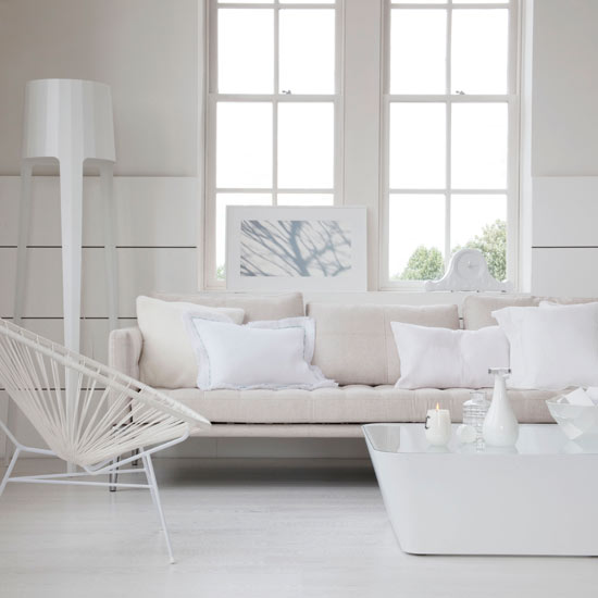 White Living Room: White Living Rooms Can Both Dazzle And Soothe The Senses