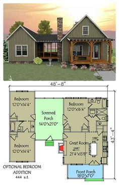 Small Houses Plans For Affordable Home Construction 12