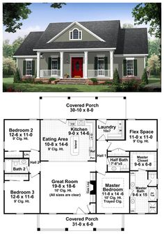Small Houses Plans For Affordable Home Construction 18