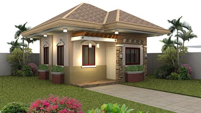 25 impressive small house plans for affordable home for Home plans for small homes