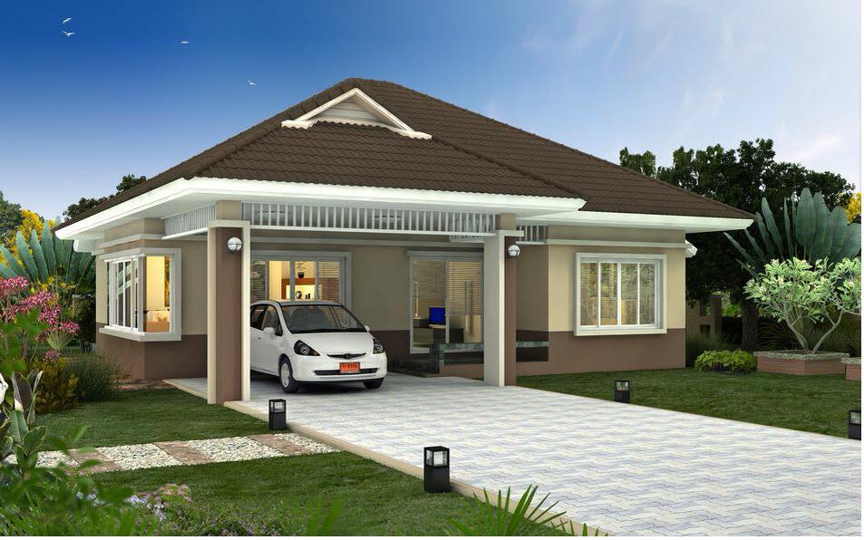 25 impressive small house plans for affordable home for Cheap house plans designs