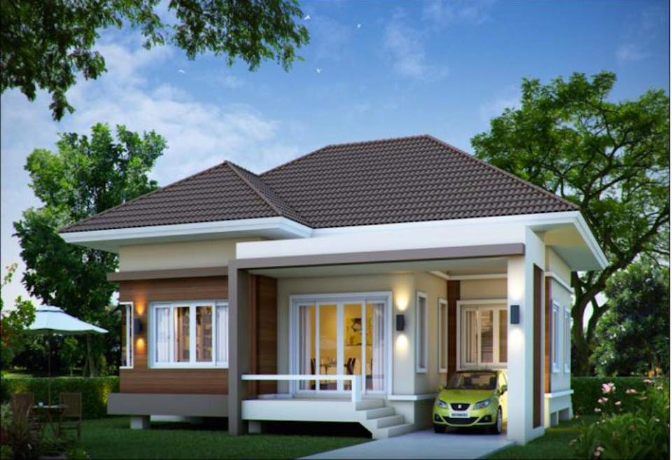 25 impressive small house plans for affordable home for Small modern home designs