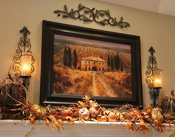 Also consider an autumn mantel display http://www.decoist.com