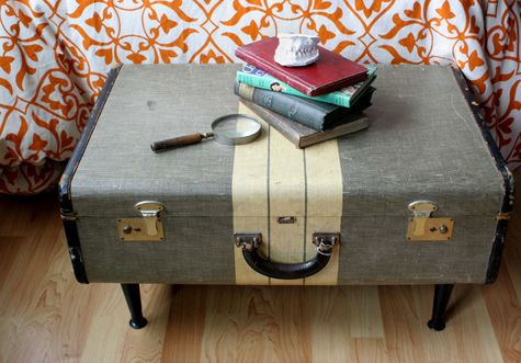 upcycled furniture suitcase