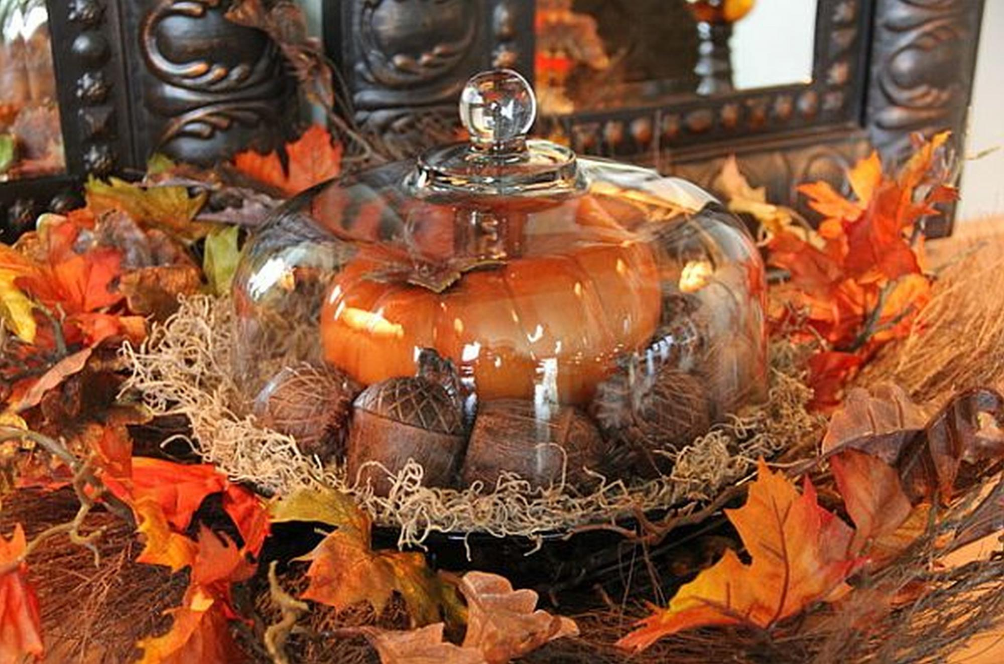 Autumn Decor Inspired By Garden Harvest Fall