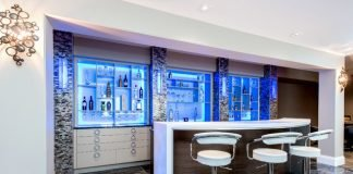 Beautiful home bar