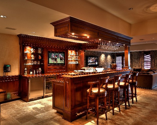 Constructed Home Bar Newslinq Luxury Bar Design Designingidea