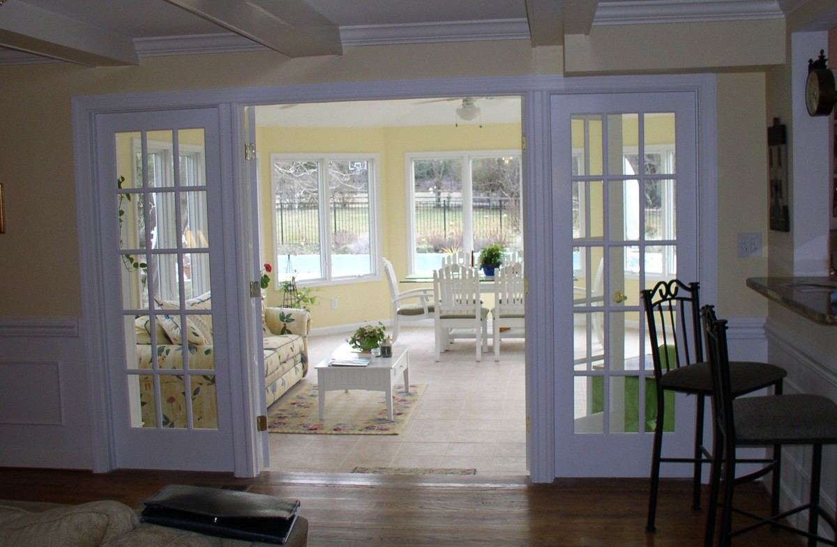 Sunroom A Fabulous Escape From The Winter Adds Charm And