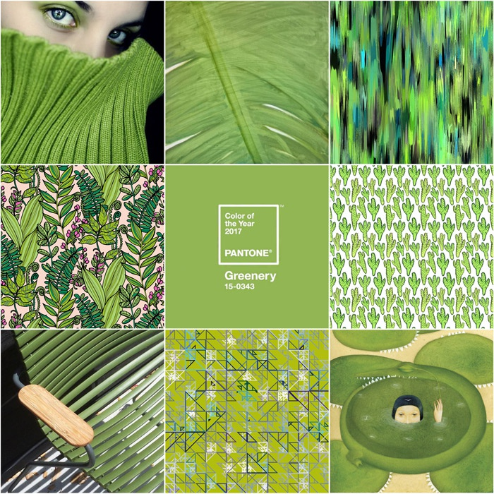 Greenery - Pantone's 2017 Color of the Year.