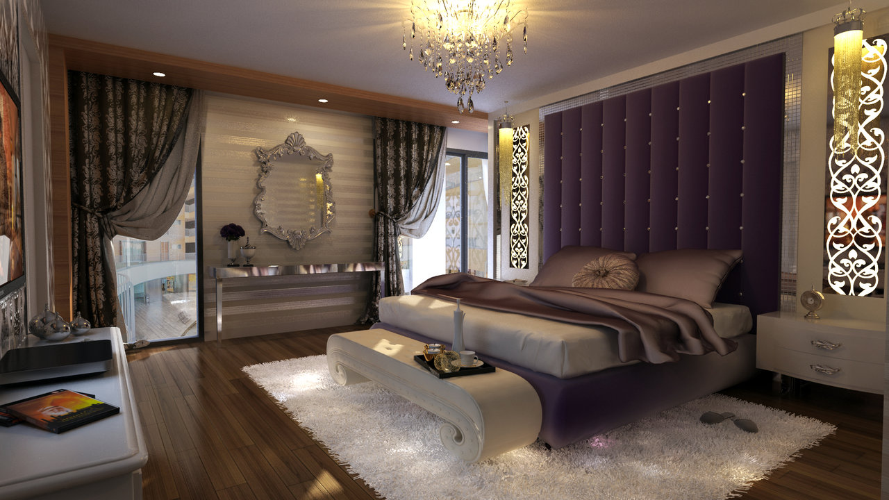 Purple Reign Create The Ultimate Luxury Of A Bedroom