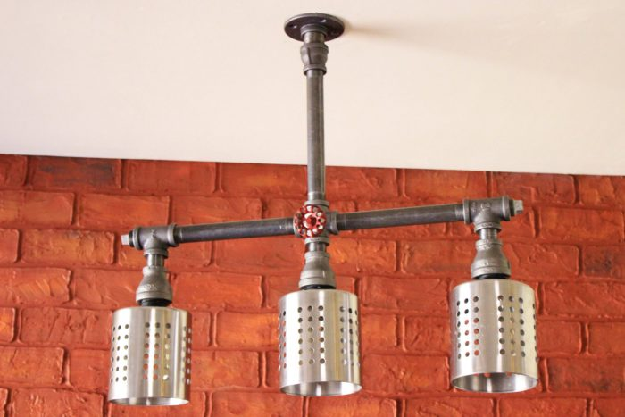steampunk light fixtures