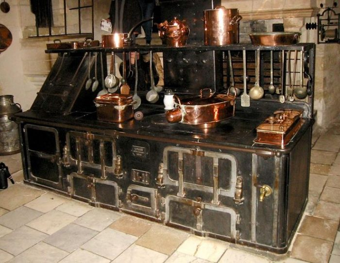 Refurbished antique appliances