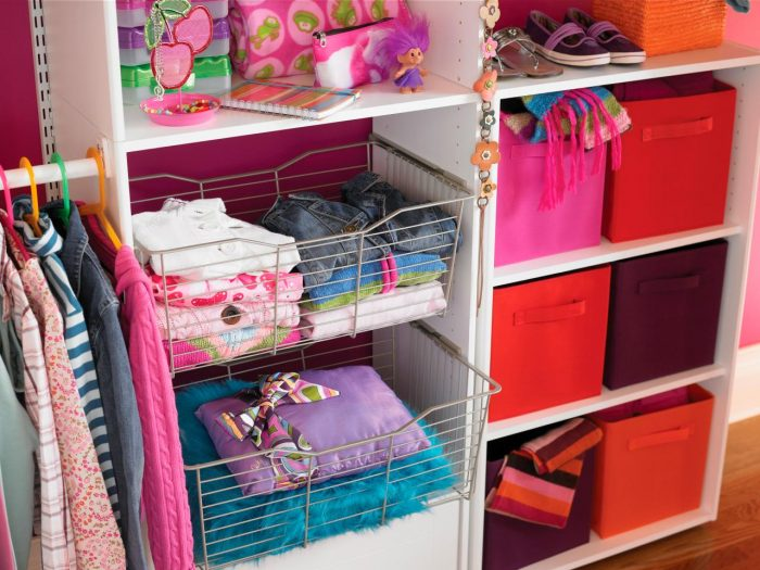 Of course, small kids closets all need TLC!