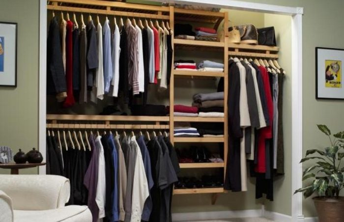 Well-Organized Closet