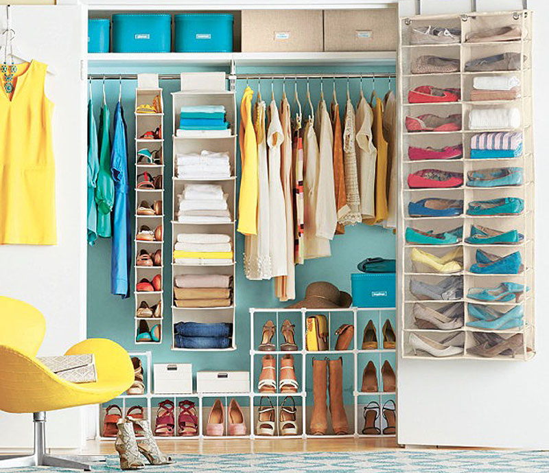 Clothes Closet Organization Ideas Part - 17: Closet Organization